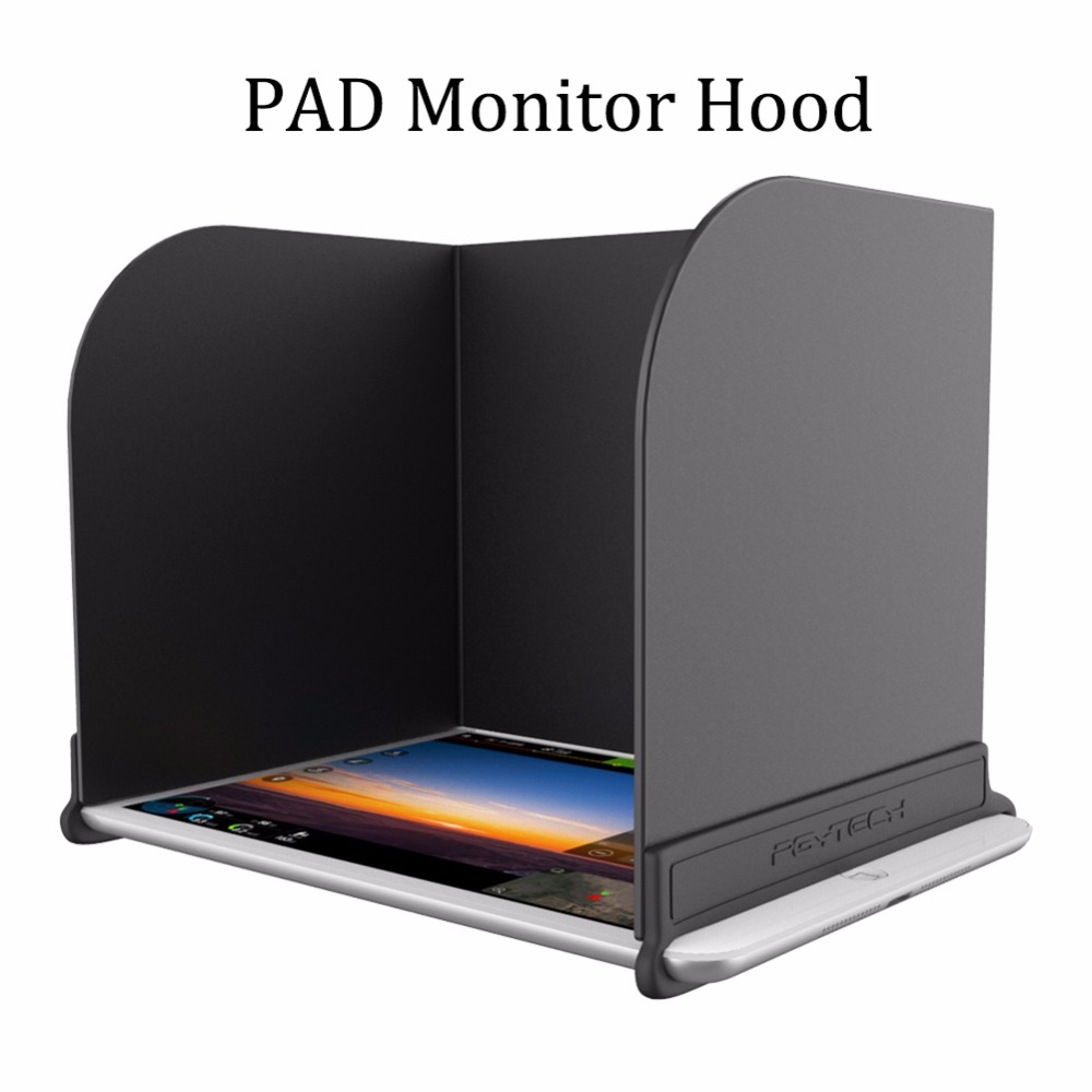 1 pc PAD monitor hood RC monitor phone Shading Sunshade Sun accessories 1 pc phone hood monitor hood for rc monitor drone phone shading sun accessories