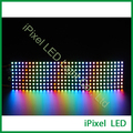 Venda quente praça apa102 pixel RGB led dot matrix 8x32 visor do módulo de led