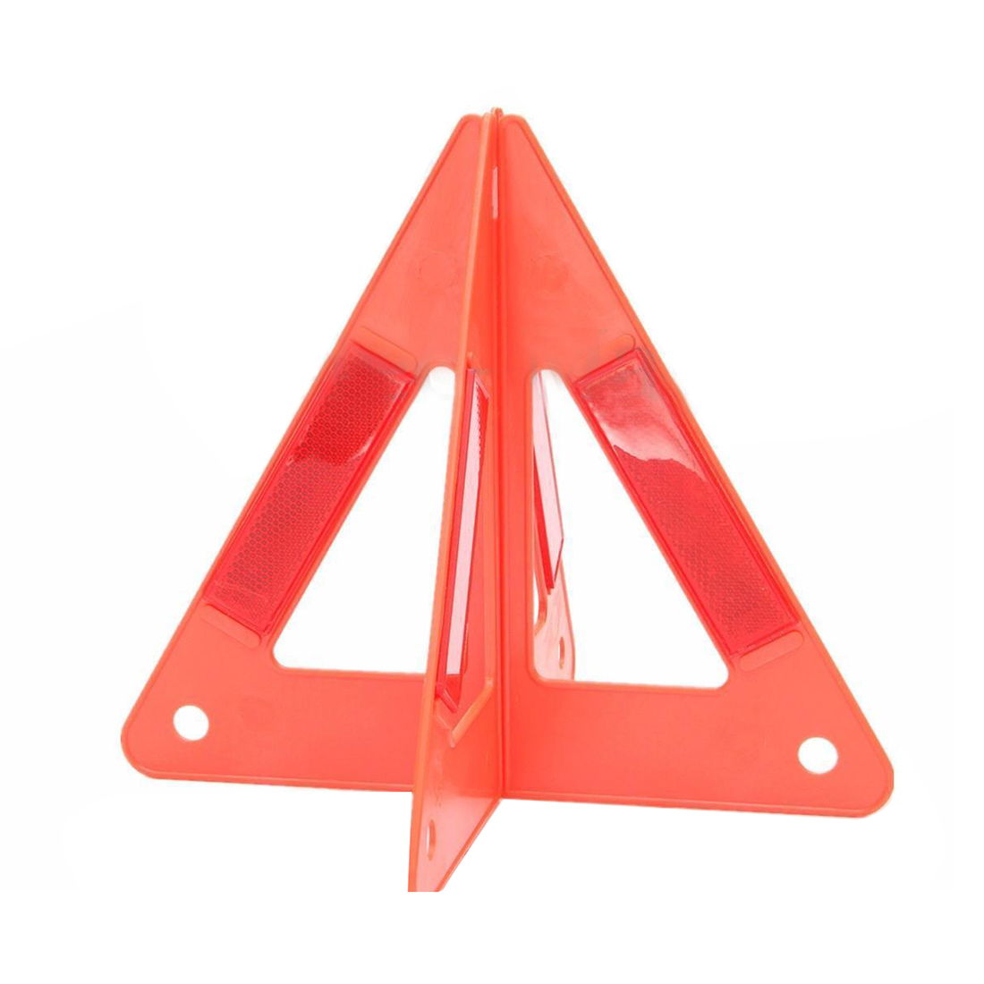 AUTO Car Emergency Breakdown Warning Triple-cornered Sign Red Reflective Safety Hazard Travel in