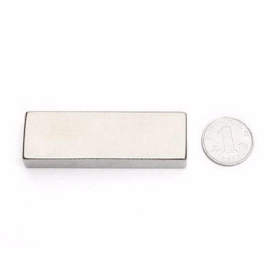 1pc Neodymium Industrial Magnets 60*20*10mm N52 Cuboid Block Super Strong Multi Purpose Permanent Magnet Rare Earth