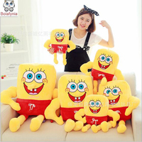 Creative Toy SpongeBob Doll Pillow Cushions Patrick Children Plush Doll Stuffed Toy