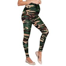 Summer women's pregnant women leggings camouflage tights stretch maternity pants maternity clothes#p40US(China)