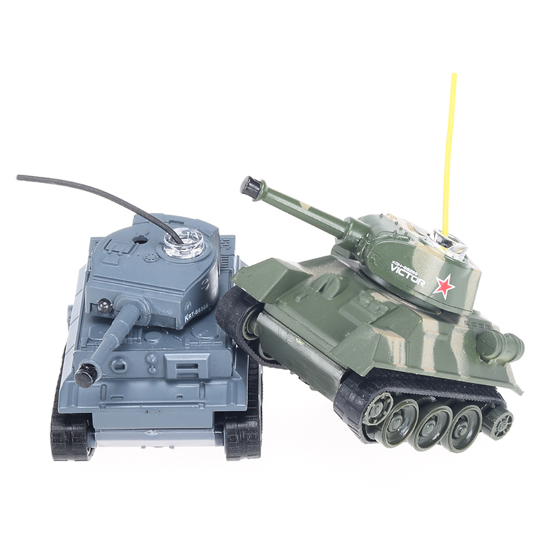№RC Battle Tank Toys ٩(^‿^)۶ 2 2 pieces Mini Plastic ...