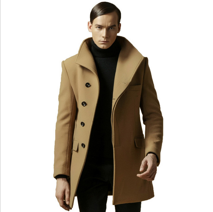7e38c99fbd0 coat paper Picture - More Detailed Picture about Outdoor Mens ... Outdoor  Mens Peacoat  Trench Fashion ...