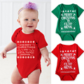 New Cotton Newborn Toddler Baby Rompers Clothing Merry Christmas Baby Boys Girls Outfit Costume Jumpsuit Body Suit Clothes