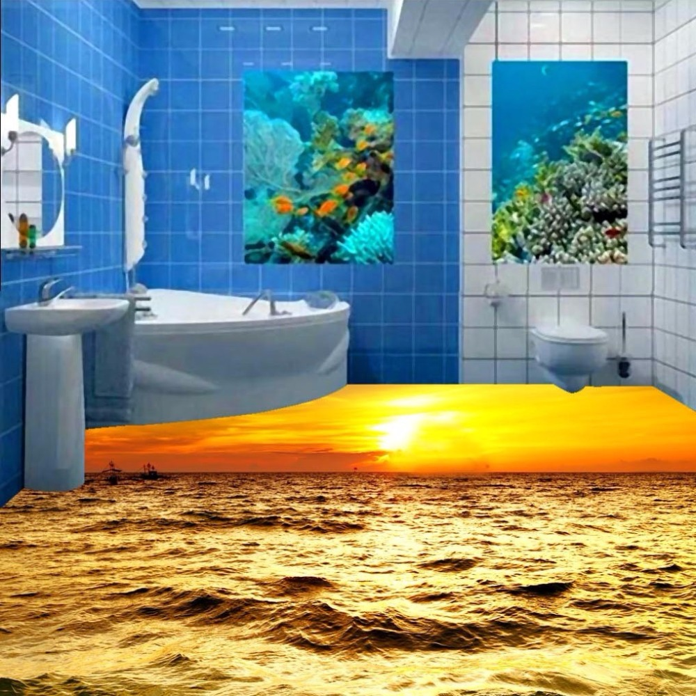 Waterproof Kitchen Flooring Popular Kitchen Wallpaper Murals Buy Cheap Kitchen Wallpaper