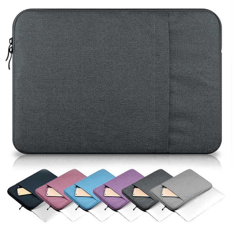14 Inch Laptop Sleeve Bag Case untuk DELL Lenovo Asus Acer HP Komputer 11 13 15 13.3 Laptop Sleeve 14 15.6 Laptop Sleeve Case Tas