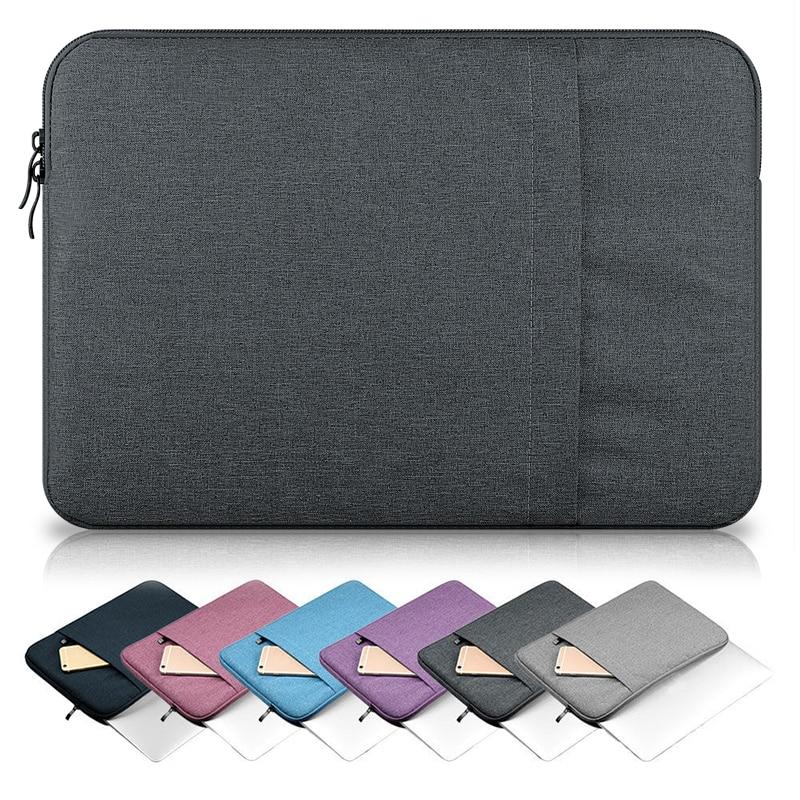 14 polegada Laptop Sleeve Case bolsa para Dell Lenovo Asus Acer HP Computador 11 13 14 15 13.3 Luva Do Portátil 15.6 laptop Caso saco Manga