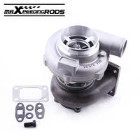 GT30 GT3037 GT3076 Turbo Turbocharger T3 Flange Water Oil Upgrade Journal bearing for 3.0 5.0L 6 8 cyl 0.6 0.82 a/r Compressor