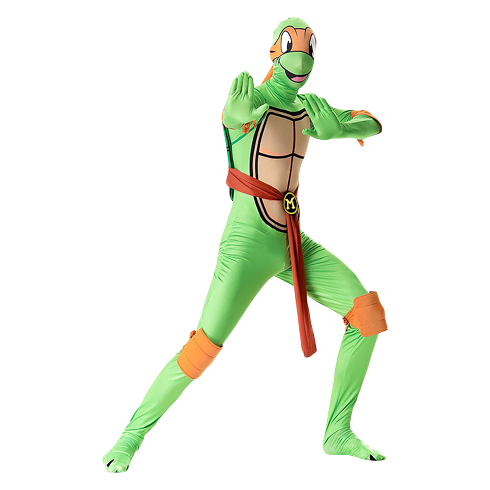 Teenage Mutant Ninja Turtles Cosplay Costume Clothing Jumpsuits Mask Halloween Cosplay Costume Adult Man