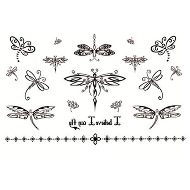 dessin tatouage libellule | kolorisse developpement