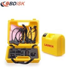 IV caja amarilla con cables del sistema completo del lanzamiento X431 Diagun Yellow box para x-431 Diagun IV venta Caliente del envío libre