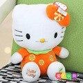 23cm 9inch  Hot sale new KT cat doll Hello Kitty Plush Doll birthday gift for children plush toys1pcs