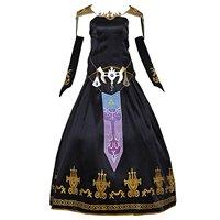 Legend of Zelda Twilight Princess Zelda Dress Cosplay Costume Custom Made