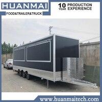 Mobile Food Trucks Catering Truck Food Caravana 6800x2100x2600mm