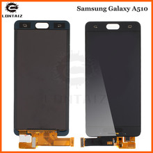 TFT LCD For Samsung Galaxy A5 2016 A510 A510F A510M SM-A510F LCD Display + Touch Screen Digitizer Assembly brightness can adjust a510f display for samsung galaxy a5 2016 a5100 a510 a510f a510m sm a510f display touch screen digitizer assembly a510 lcd repair