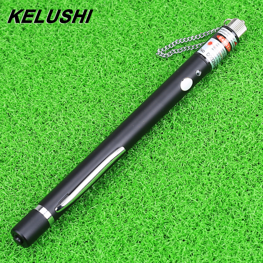 KELUSHI Ingyenes házhozszállítás 10 MW tollstílusú vizuális hibakereső Piros lézerfényforrás / rostteszt hibadetektor Finder Tool 10KM