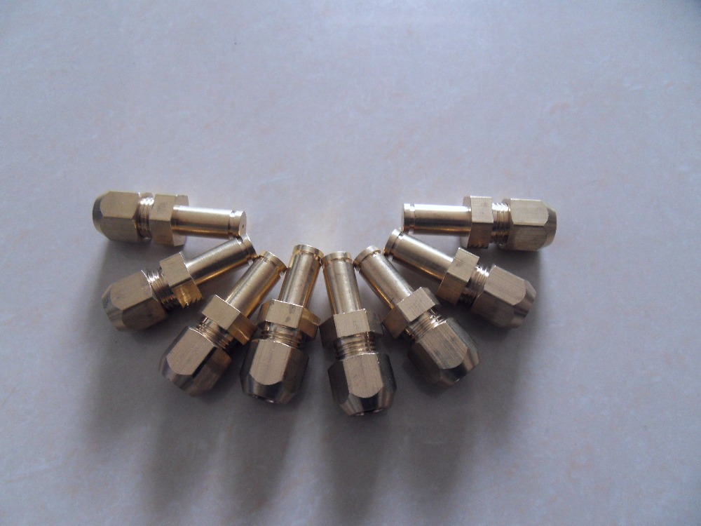 Custom made nozzle Jets for gas burner propane gas jet orifices for bbq grill oven heater gas orifice fittings factory