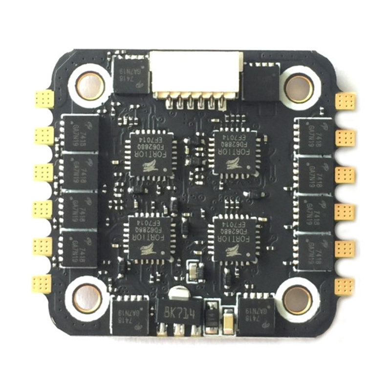 20*20mm BS-28A 4in1 4 In 1 2-4S BLHELI_S ESC For PWM Multishot Oneshot DSHOT 4.1g For RC Camera Drone FPV Racing Accs