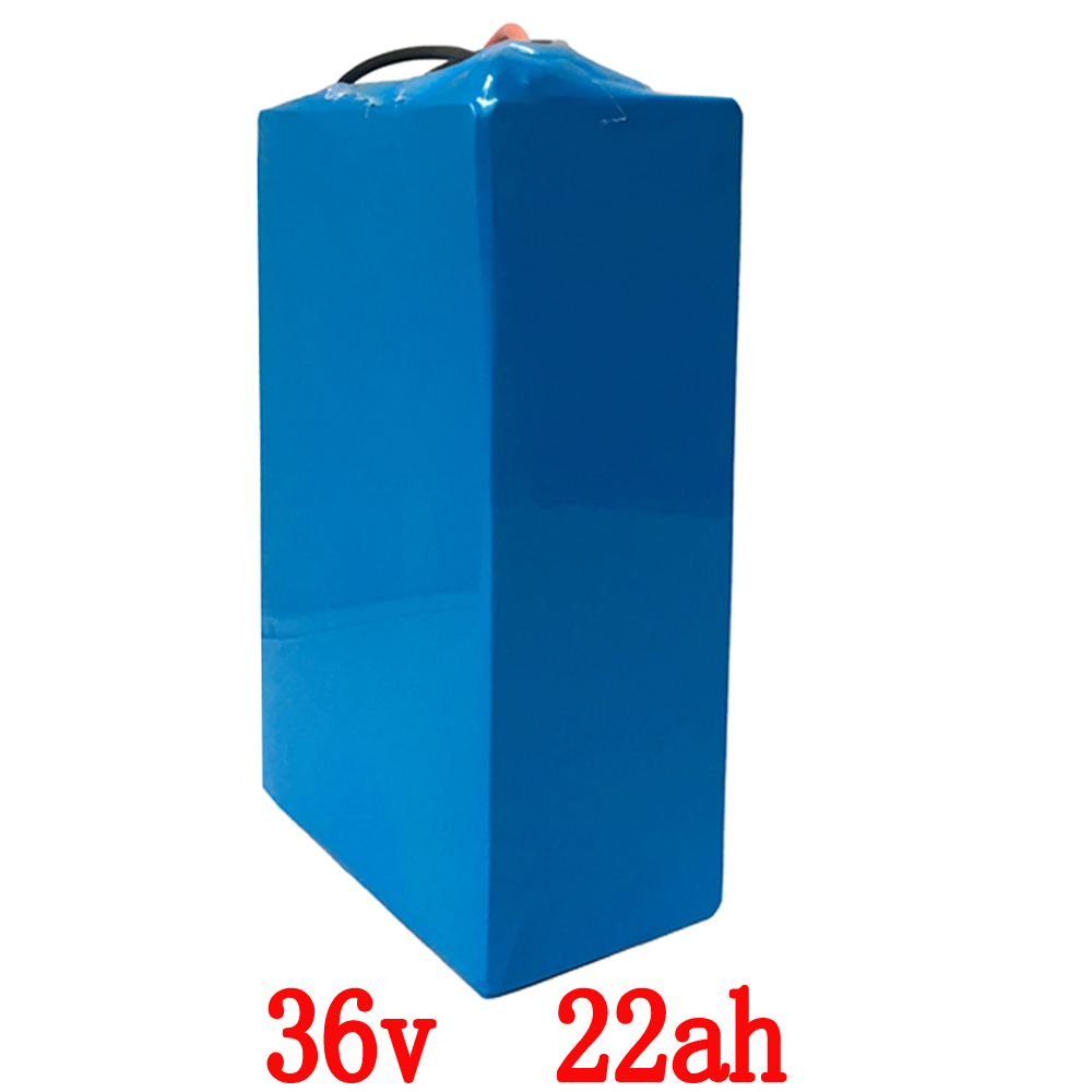 36V 1000W battery 36V 22AH Electric Bike 36V Lithium ion battery pack with PVC case 30A BMS,42V 2A charger FREE Shipping 48 volt li ion battery pack electric bike battery with 54 6v 2a charger and 25a bms for 48v 15ah lithium battery