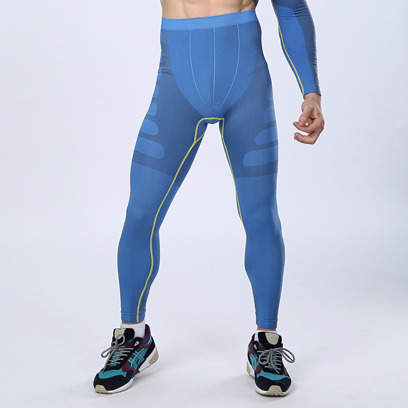 Men/'s Compression Long Pants Gym Under Baselayer Running Sports Tights Fitness