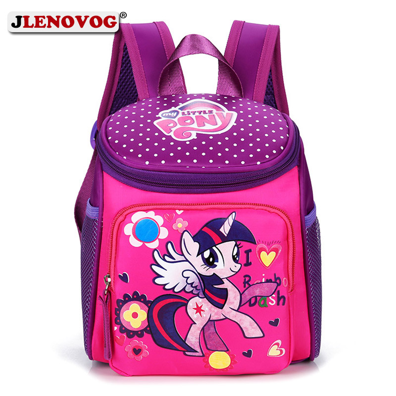 06c6a2ba17 My little pony School bags for Toddler Kids Cute Children Mini Hello Kitty  schoolbag Red Mickey