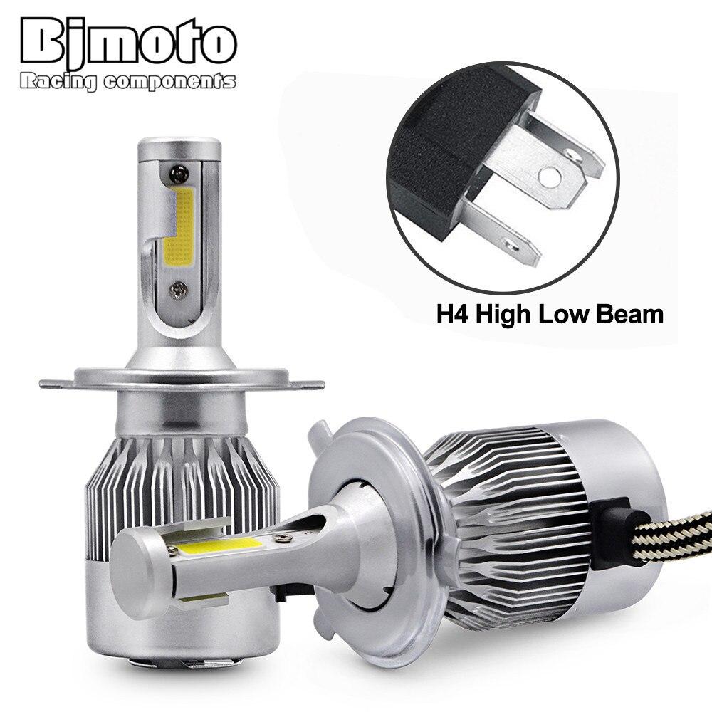 Peugeot J5 290L 100w Super White Xenon High//Low//Slux LED Side Headlight Bulbs