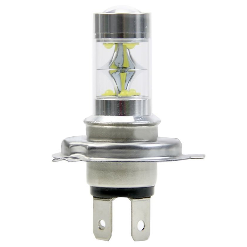 1pc H4 45W 2500LM Auto Headlamp Car LED Headlight Bulbs Larger COB Fog Lights Headlamp Car Styling