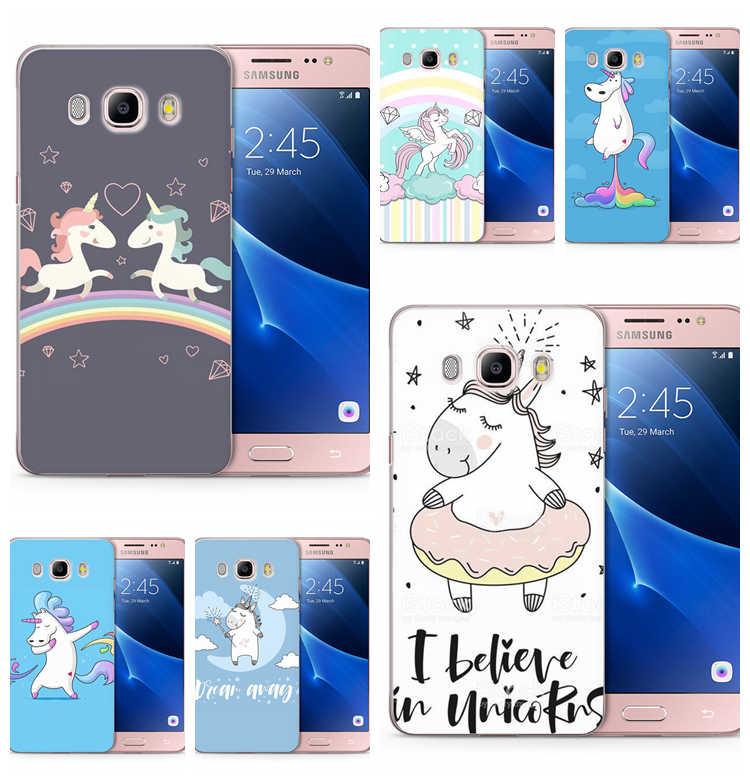TPU Luxo Para Samsung Galaxy J1 J3 J5 J7 J120 J330 J530F G530 prime Capa Mole Projeto amantes do cavalo Dos Desenhos Animados cobertura flor C159