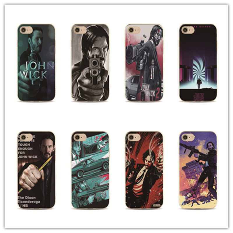 John Wick phone case personalised cover for iPhone 7 plus 4 4s 5 5s 5c se 6 6s iPhone7 for Samsung S5 S4 S6 S7 edge ...