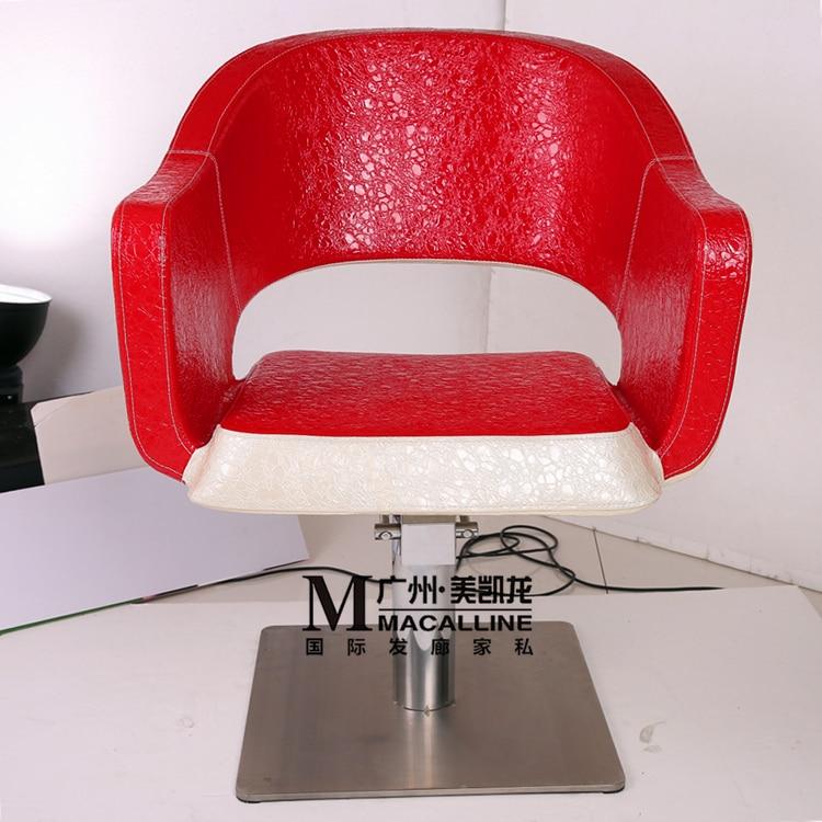 . La silla de corte de pelo. Silla de peluquería de lujo. Nuevo - Mueble - foto 2