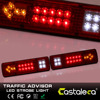 1Pair 12V 19 LED Tail Lights Turn Stop Reverse Indicator Lamp Truck Trailer Van Bus Car