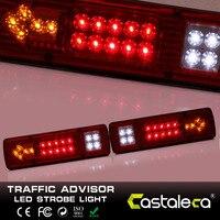 1 Pair 12 V 19 LED Światła Tylne, Odwrócona turn Zatrzymać Lampkę Kontrolną, ciężarówka z Przyczepą Van Bus Karawana Ciężarówek Przyczepy Samochodowe Akcesoria Samochodowe