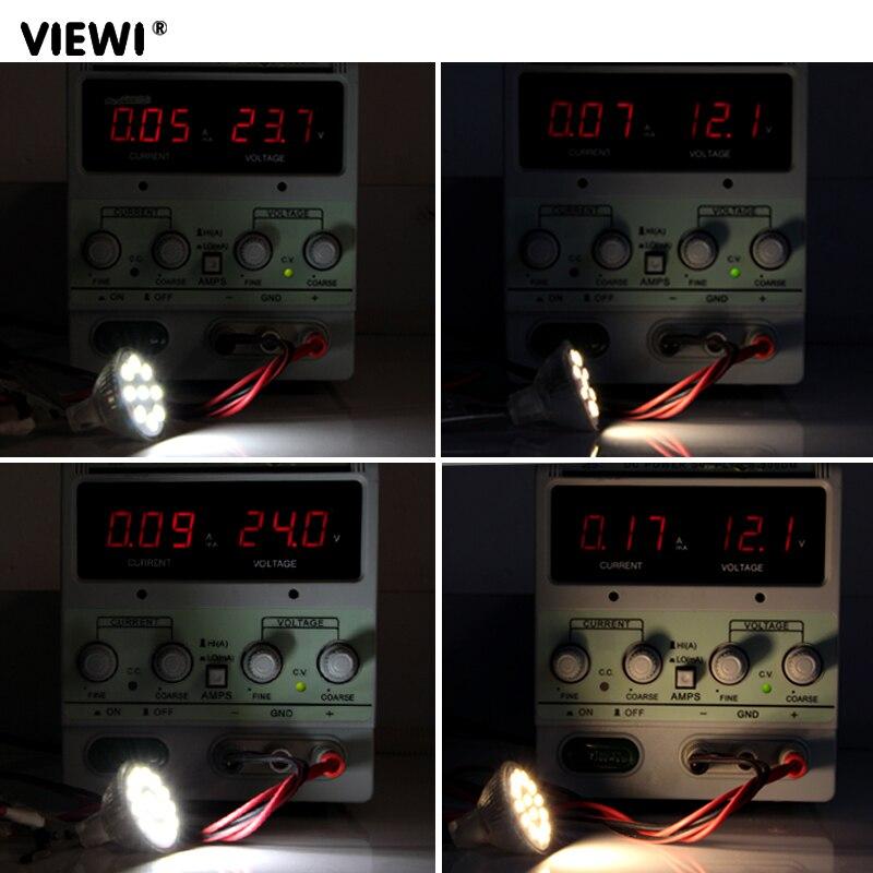 Купить с кэшбэком ampoule led gu4 12v 24V 35mm MR11 spotlight glass cup mini 12 24 v volt 1W 2W spot bulb lights under cabinet energy saving lamp