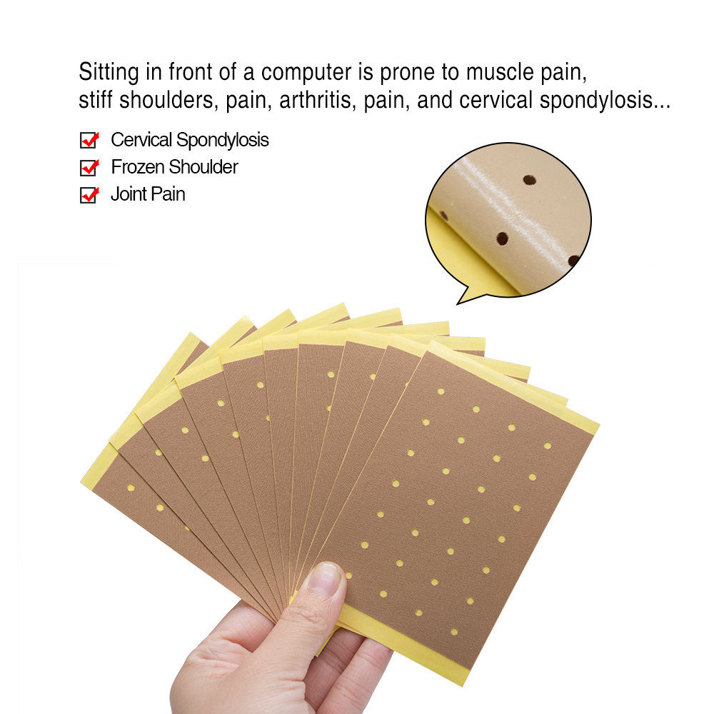100pcs = 10bags Сөмкелер Joint Ache Magnet Pain Patches - Денсаулық сақтау - фото 5