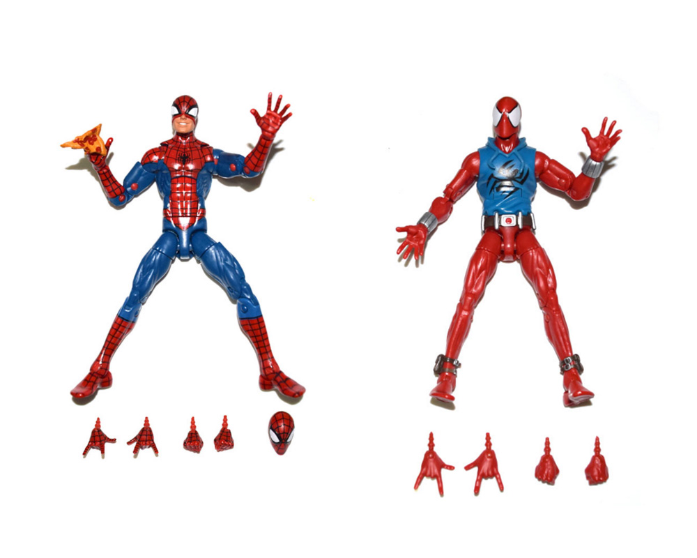Marvel Legends Infinite Series Pizza Scarlet Spiderman 6 Loose Action Figure TOY FREE SHIPPING