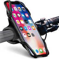 Uniwersalny rowerowy uchwyt na telefon do telefonu iPhone X 8 XS 7 uchwyt na telefon komórkowy stojak uchwyt na kierownicę do GPS uchwyt telefonu komórkowego uchwyt na