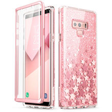 For Samsung Galaxy Note 9 Case i Blason Cosmo Full Body Glitter Marble Bumper Protective Cover with Built in Screen Protector