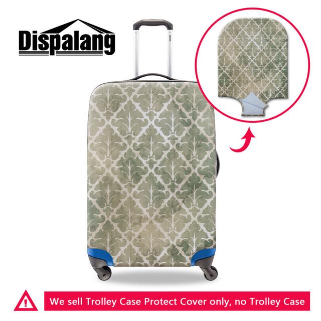 Elástica Padrão Artístico Impressão Cobertura de Bagagem de Viagem À Prova D' Água 18-30 polegada de Bagagem Mala Capa Protetora Anti-poeira Acessórios