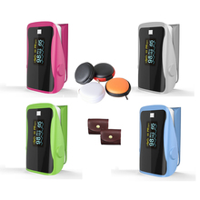 PRO-F9S+bag all color Finger Pulse Oximeter,Heart Beat At 1 Min Saturation Monitor Heart Rate Blood Oxygen CE Approval