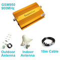 GSM950 900Mhz GSM Booster Repeater Amplifier with Antenna and 10m Cable