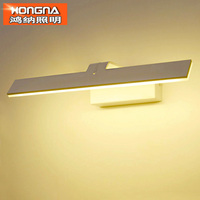 Brief Style 38CM 10W LED Wall Light Waterproof Anti fog Wall Lamp LED Mirror Light Cabinet Bathroom Wall Light Free Shipping