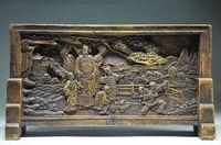 Гениальный Китайский Старый рок камня ручной работы экран раздел-старик сосны украшения