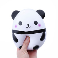 2017 Jumbo Cute Panda Kawaii Cream Scented Squishies Very Slow Rising Kids Toys Doll Gift Fun