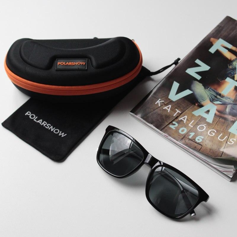 9f170865666 POLARSNOW Aluminum+TR90 Sunglasses Men Polarized Brand Designer Points Women  Men Vintage Eyewear Driving Sun Glasses-in Sunglasses from Apparel  Accessories ...
