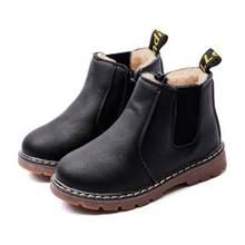 Детские ботильоны для девочек и мальчиков; Ботинки Челси с бархатом; теплые осенние модные ботинки; детская зимняя обувь;#47