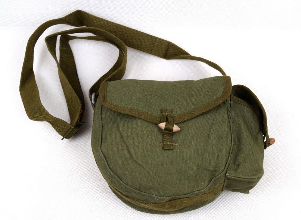 Sports Souvenirs Rational Original Surplus Vietnam War Period Chinese 56 Ak Drum Mag Military Ammo Pouch