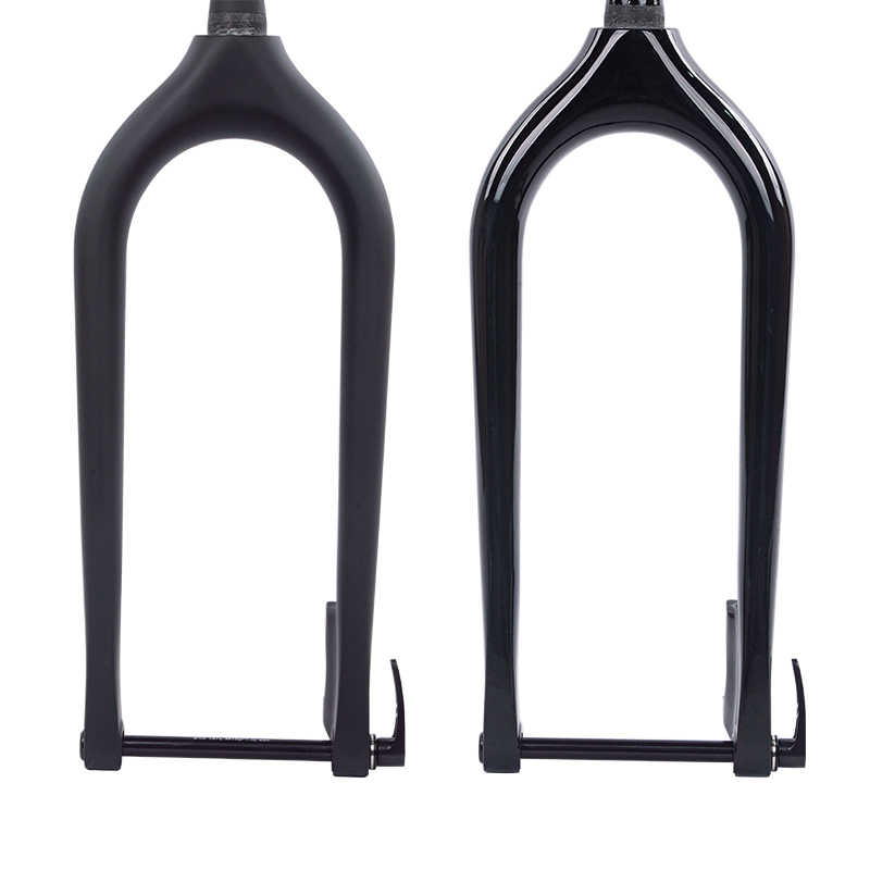 "26er Carbon Fat Bike Fork Snow Beach MTB Bicycle Tapered Forks Fit 5.0/"" Tire"