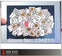 free shipping magic trick gimmick card mac FRAME-UP close up magic stage magic prediction