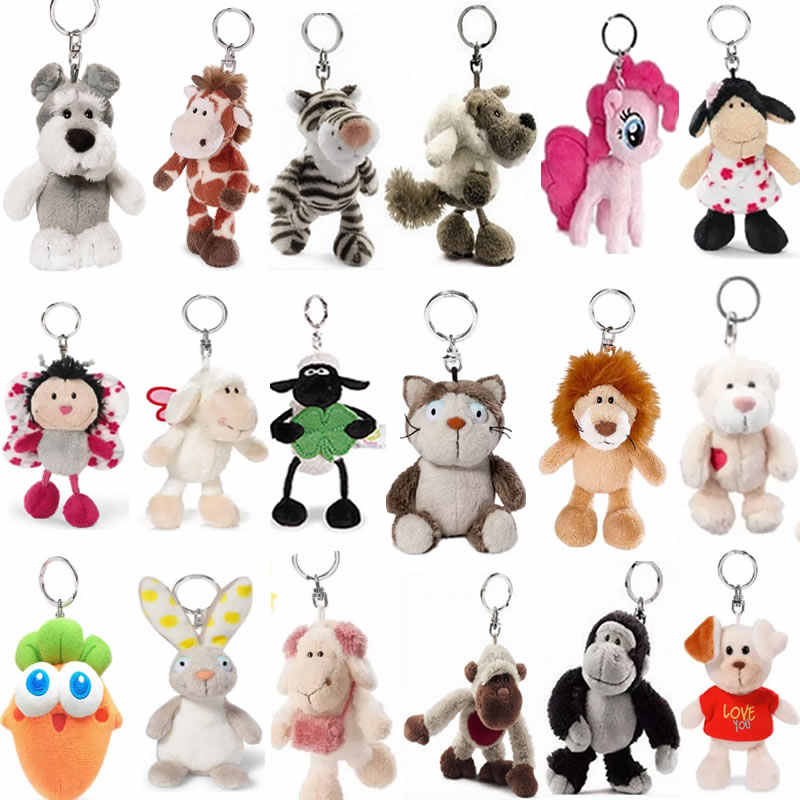 Cão, dia Dos Namorados, leão, macaco, ovelha, carneiro, pingente, corrente chave, urso e veados, pingente de pelúcia, presente de aniversário.